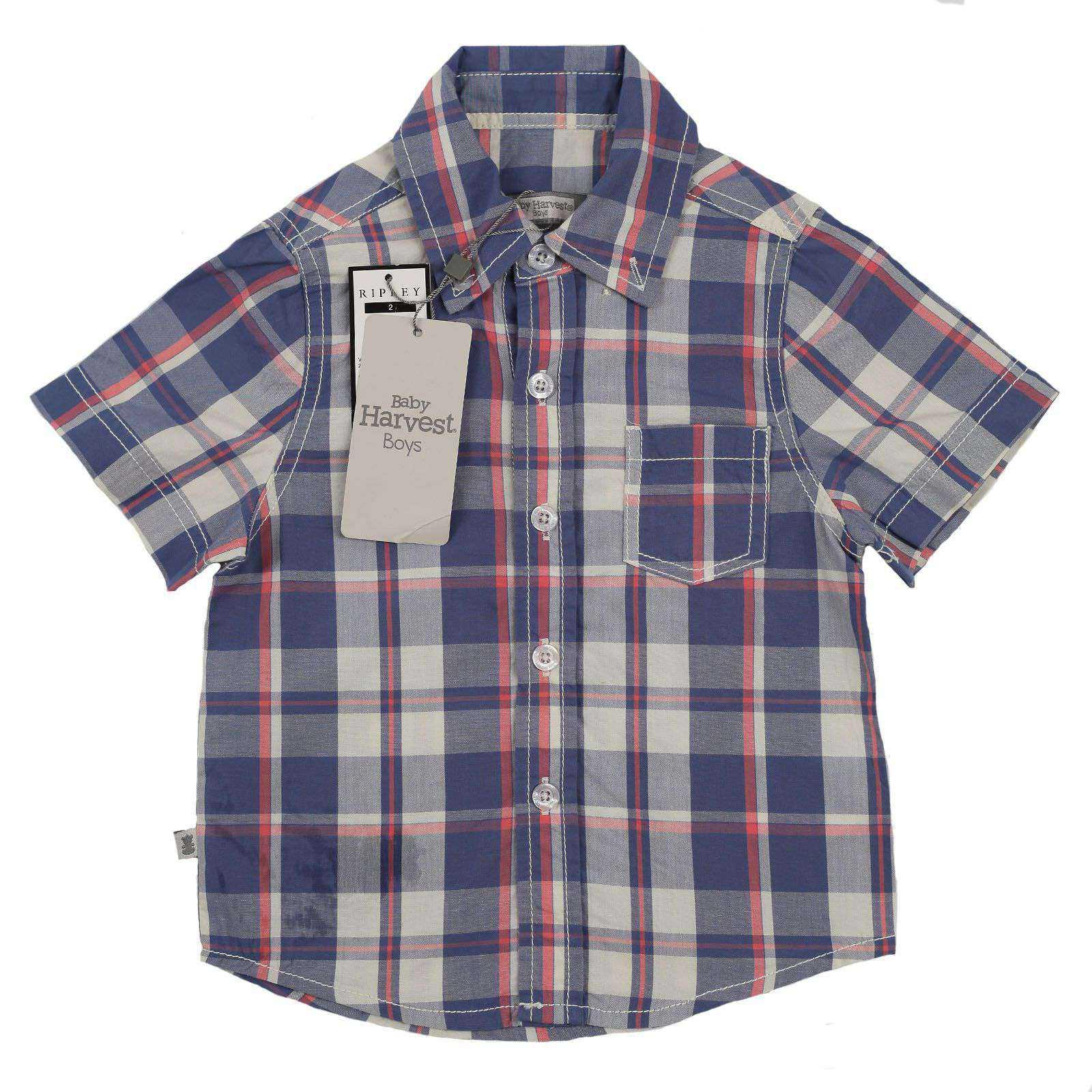 Стильная рубашка для малышей Baby Harvest
