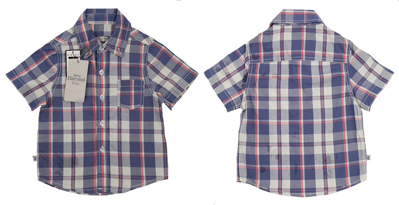 Стильная рубашка для малышей Baby Harvest-двойная