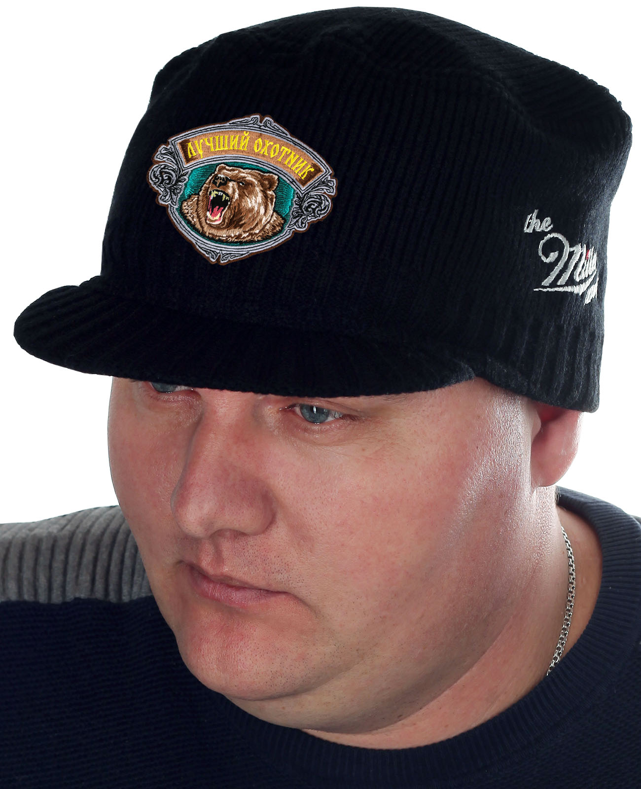 Стильная шапка-кепка от бренда Miller - заказать онлайн