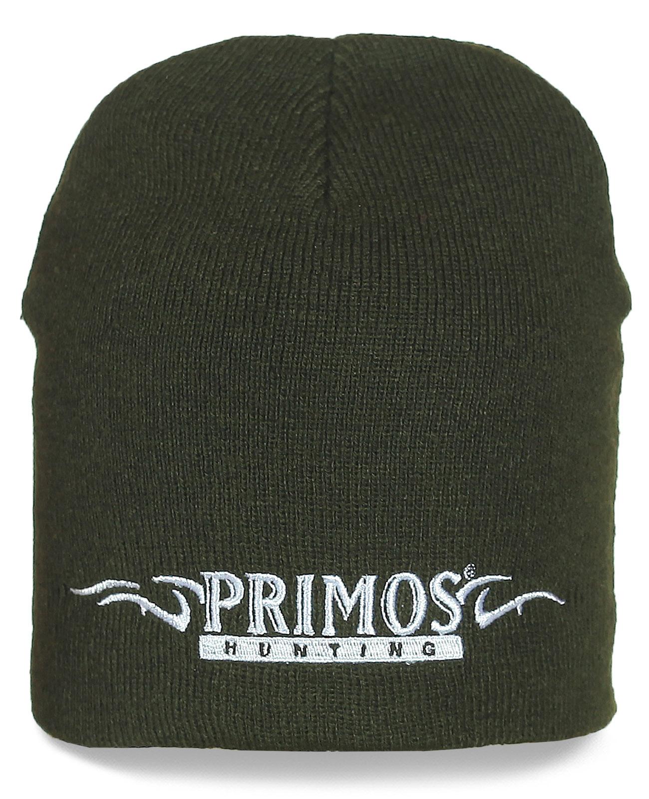 Стильная шапка Primos Hunting. Качественная повседневная модель