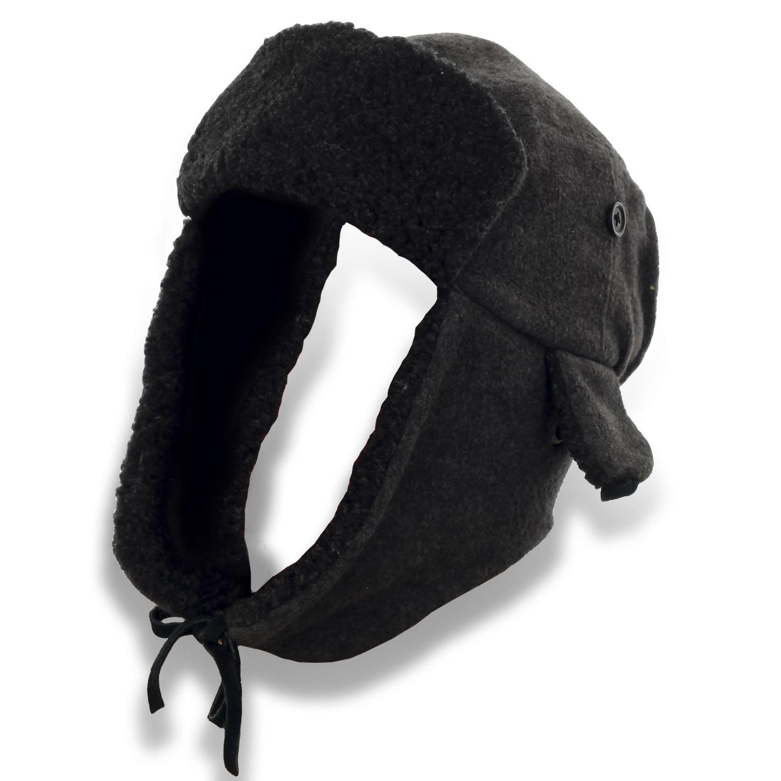 Утепленные шапки-ушанки по низкой цене