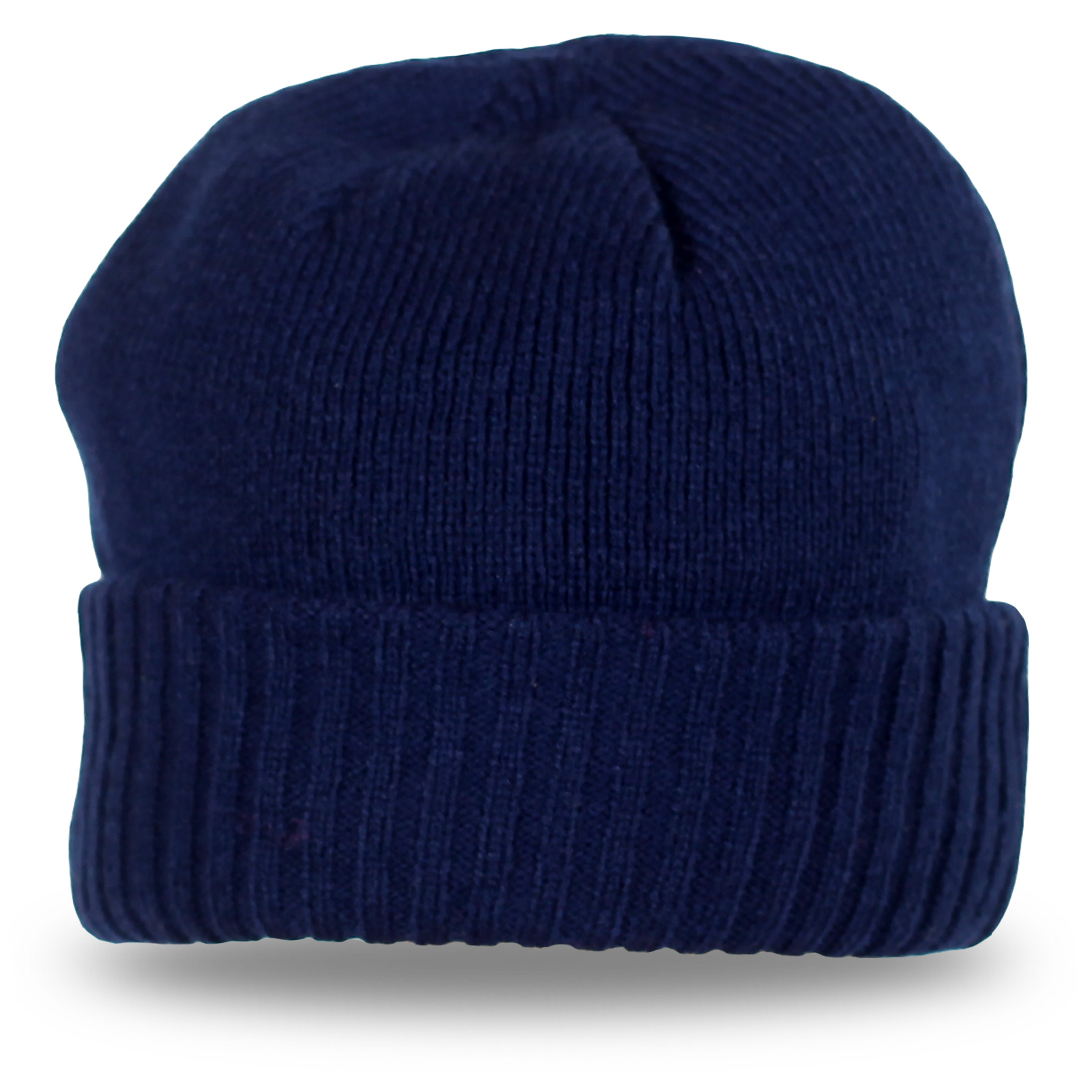 Стильная синяя шапка