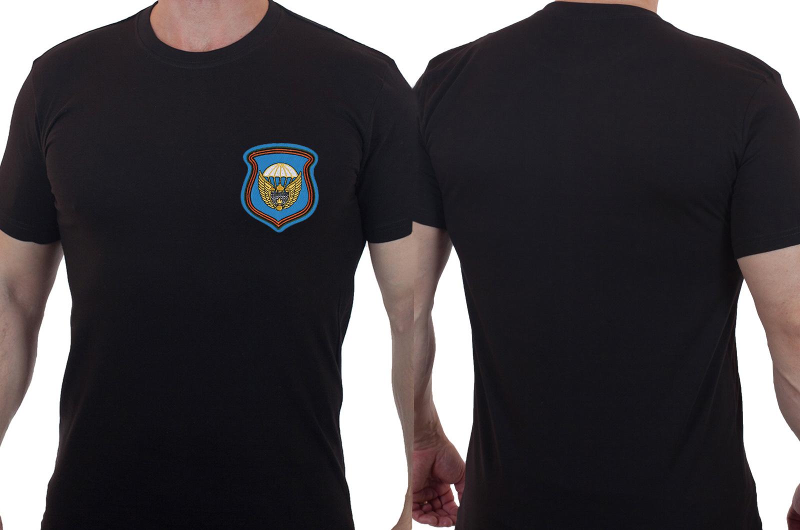 Стильная военная футболка с вышитой эмблемой 106 гв. ВДД - купить в подарок