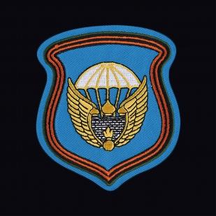 Стильная военная футболка с вышитой эмблемой 106 гв. ВДД - купить онлайн