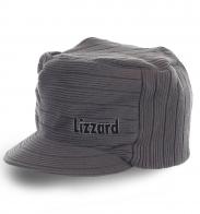 Стильная вязаная шапка с козырьком Lizzard последняя модная тенденция