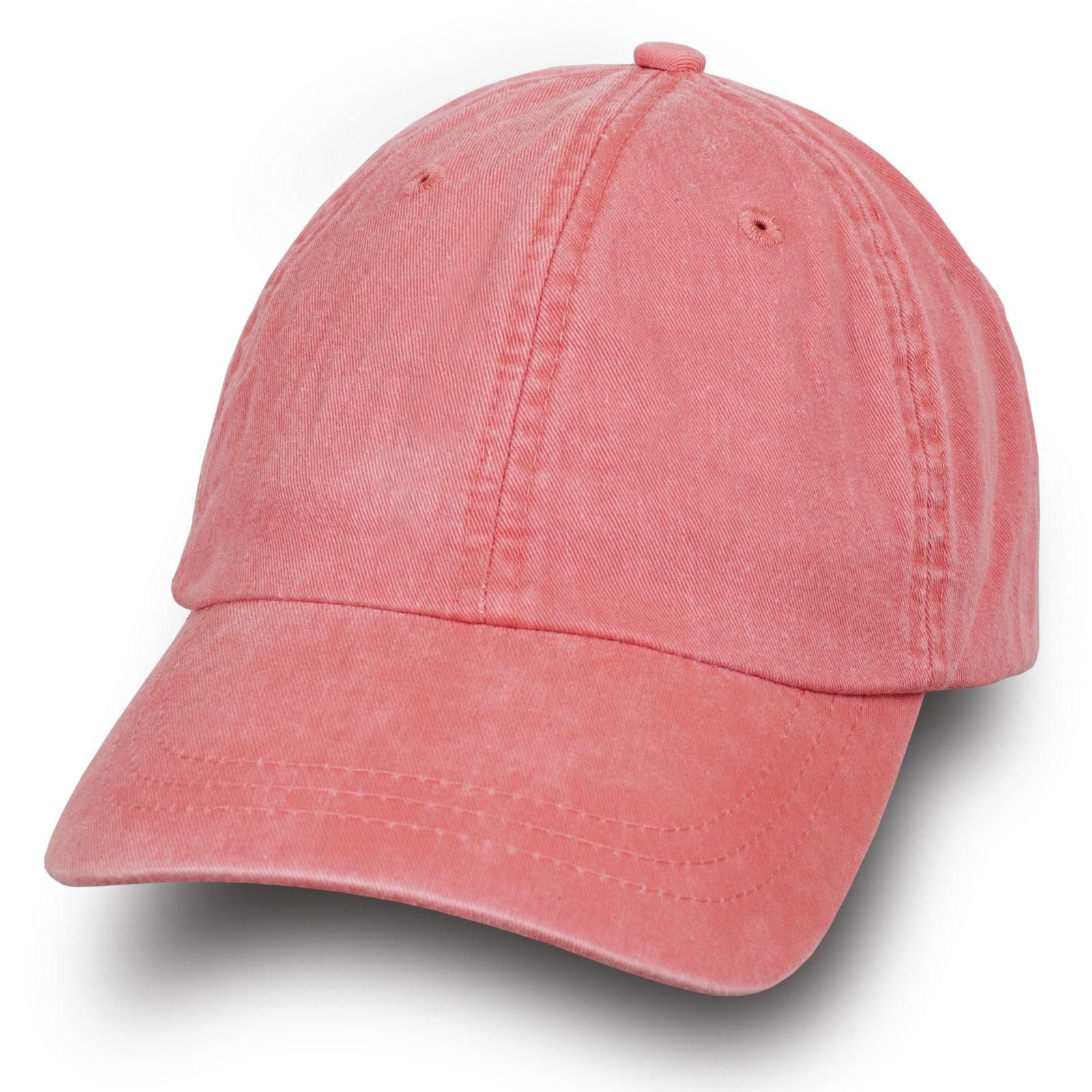 Стильная женская бейсболка розовая