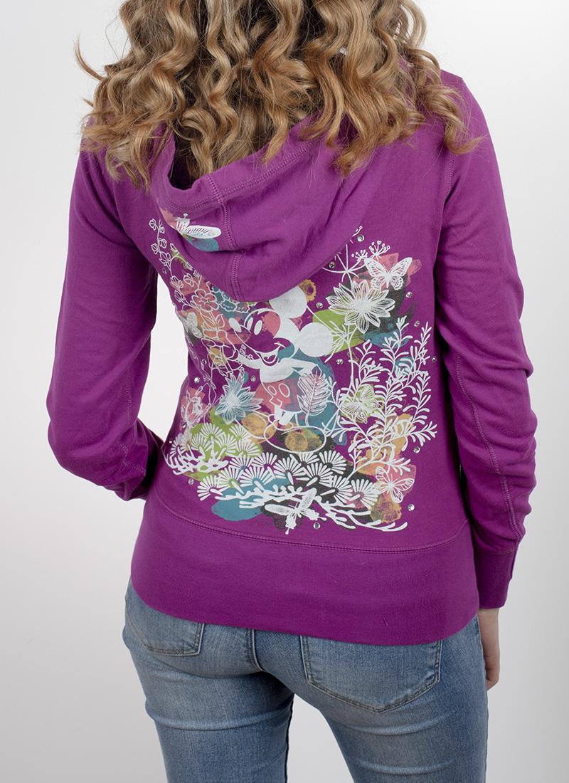 Теплая женская кофта Disney Parks с капюшоном