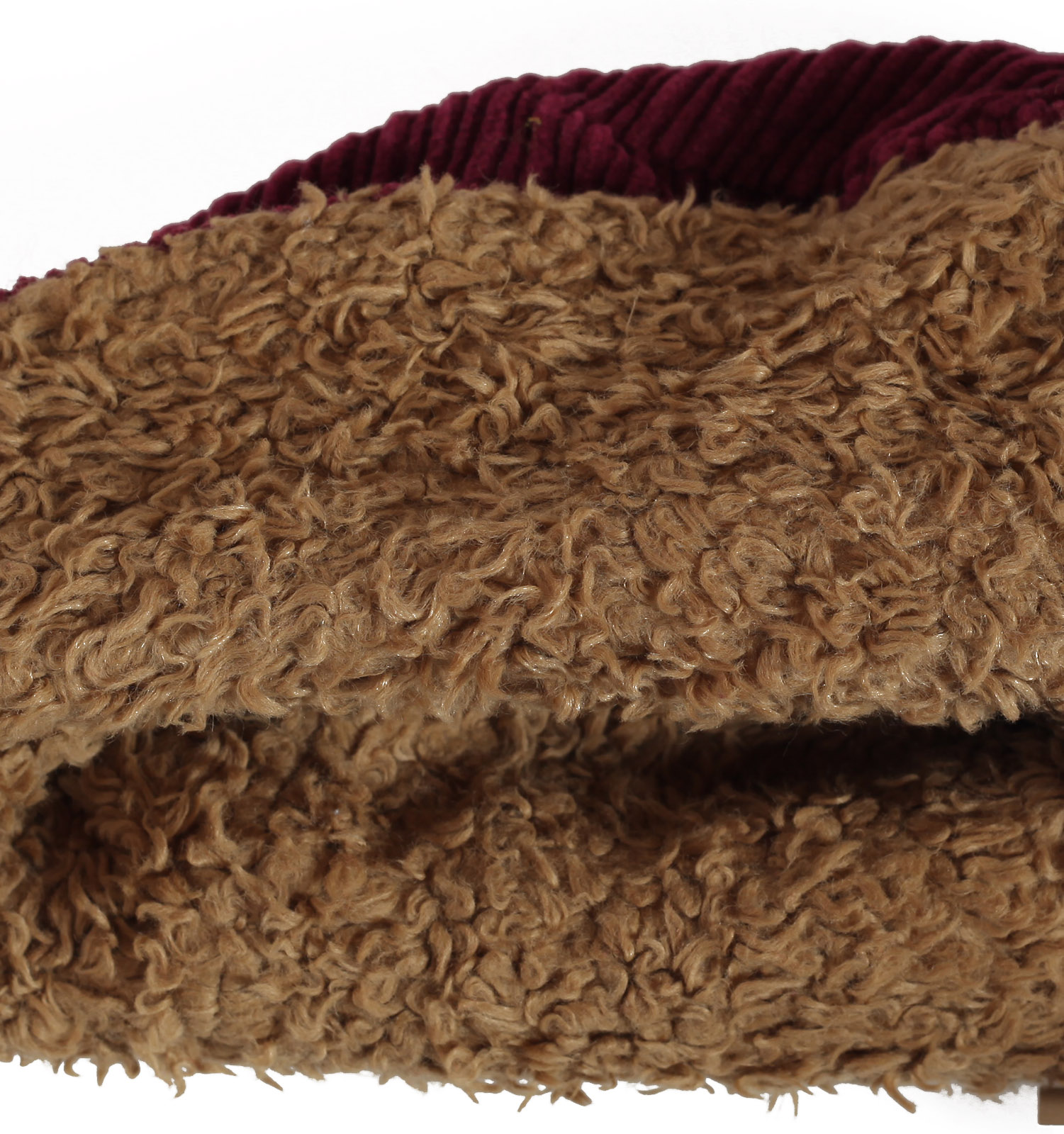 Заказать стильную женственную зимнюю шляпку крупного вельвета, утепленную мехом по выгодной цене
