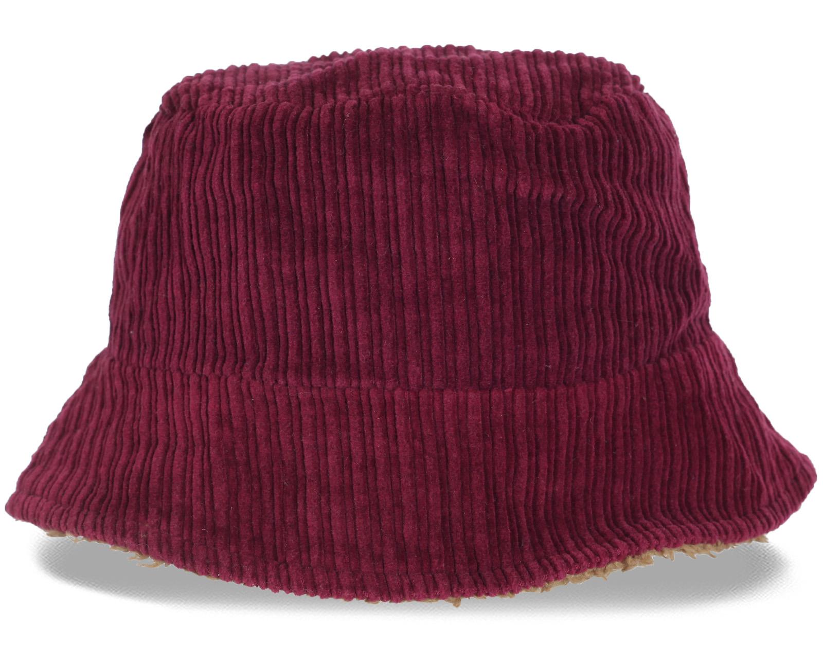 Стильная женственная зимняя шляпка крупного вельвета, утепленная мехом. Комфортная модель, которой все будут завидовать!