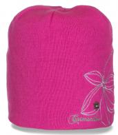 Стильная зимняя шапка бини Сatmandoo с флисом привлекательная уютная популярная модель