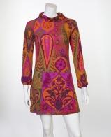 Стильное мини-платье с ярким принтом от Radzoli