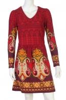 Купить стильное платье с неординарным узором от бренда Seven Lemon