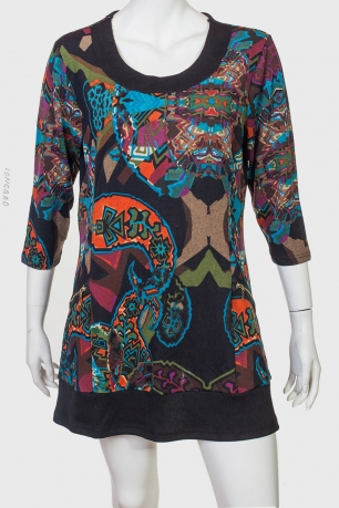 Стильное платье-туника Longbao.