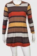 Стильное полосатое платье-туника от Marie Claire