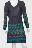 Стильное приталенное платье от бренда Longbao