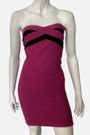 Стильное женское платье без бретелей