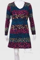 Стильное женское платье с классным принтом от Kruebeck