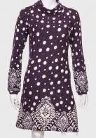 Стильное женское платье с оригинальным принтом