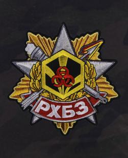 Стильные армейские шорты с нашивкой РХБЗ