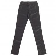Стильные женские брюки Pieces черного цвета.