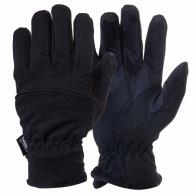 Стильные черно-синие перчатки, прокачанные тинсулейтом.