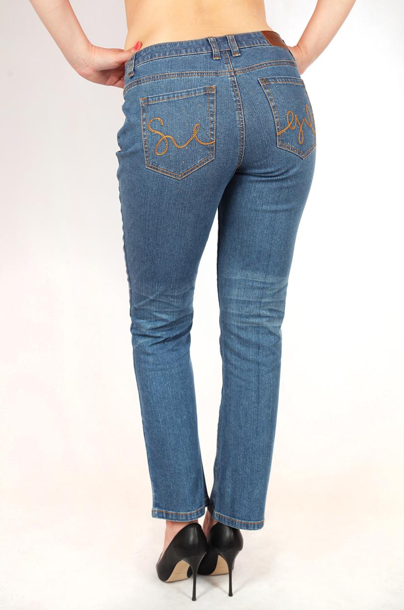 Стильные джинсы с дизайнерскими украшениями от Sheego®