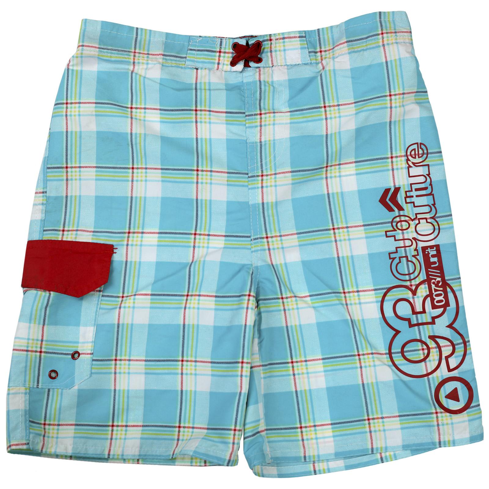 Стильные клетчатые шорты с глубокими карманами