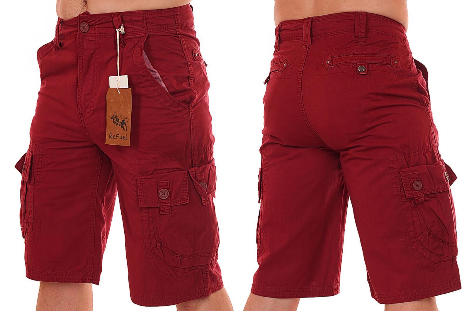Заказать новомодные мужские шорты от бренда ReFuel