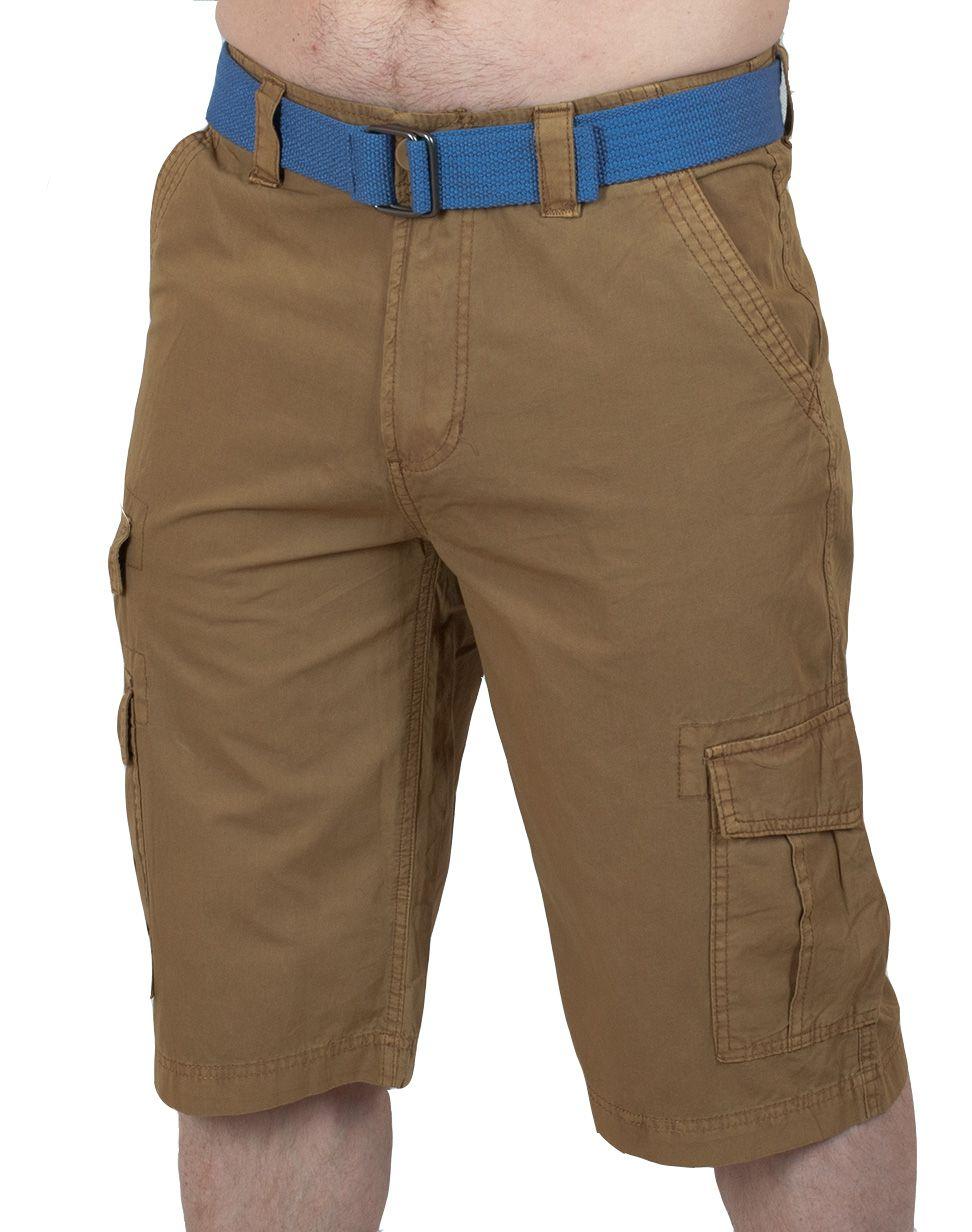 Стильные мужские шорты Carbon - вид спереди