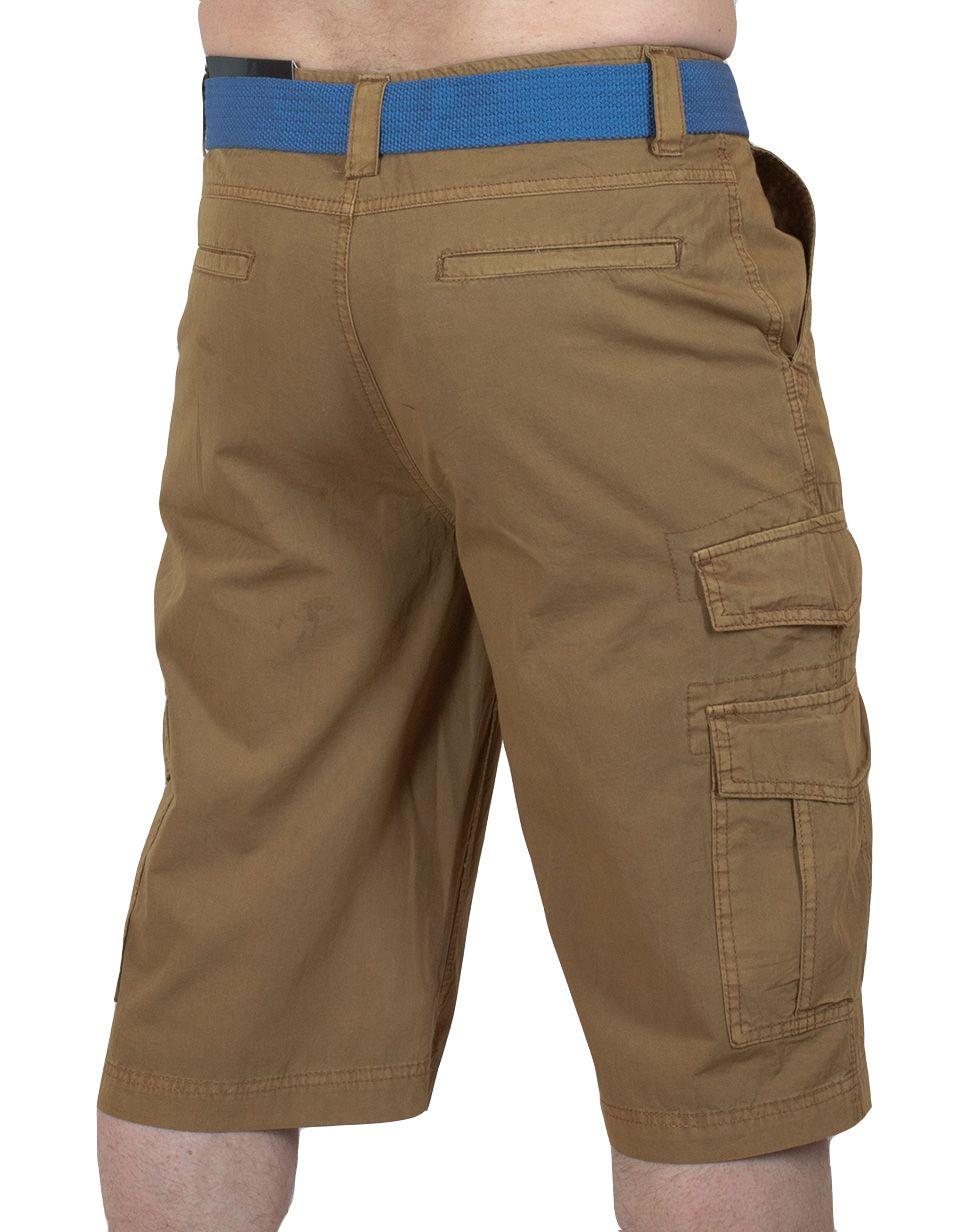 Стильные мужские шорты Carbon - вид сзади