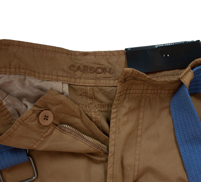 Стильные мужские шорты Carbon - ярлык