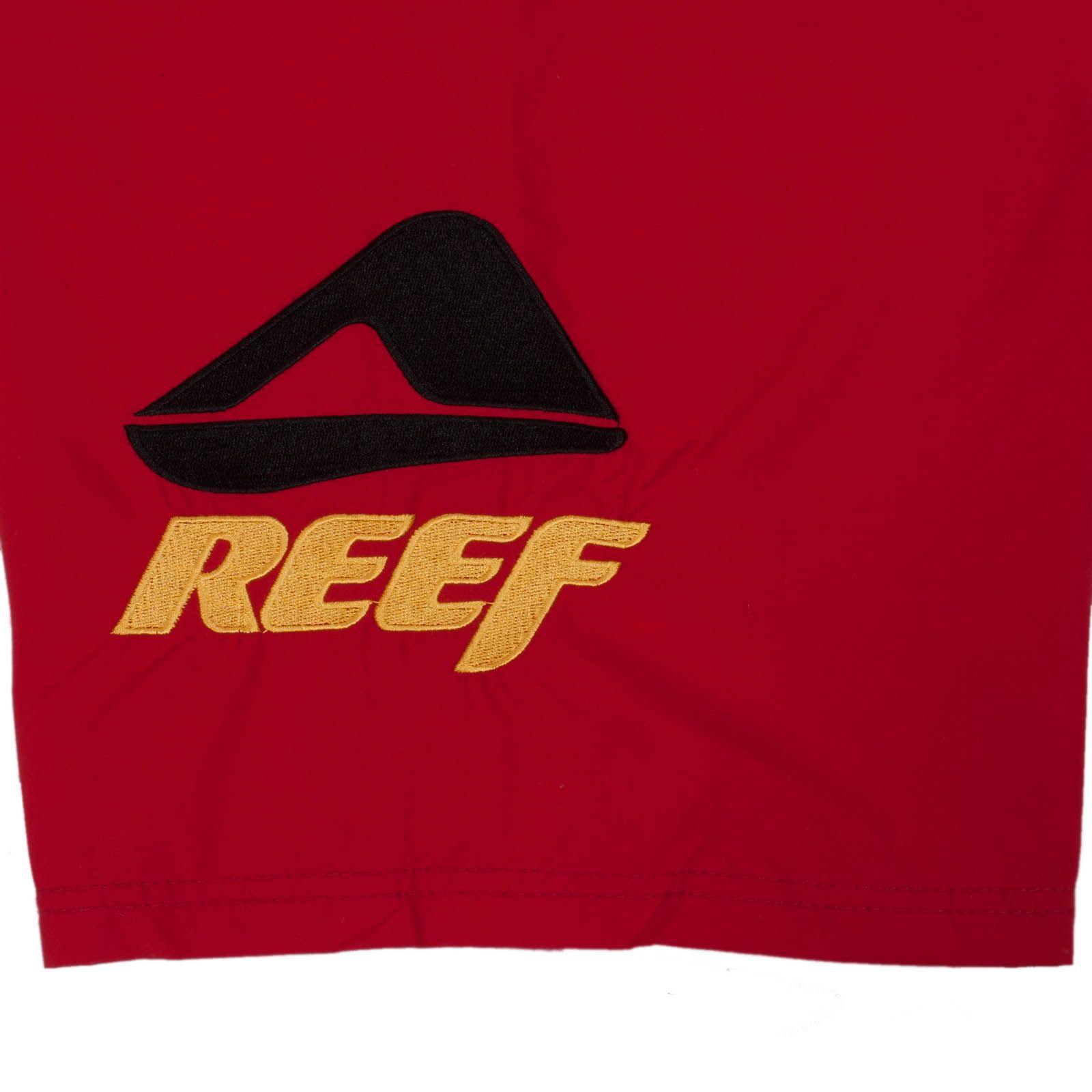 Стильные мужские шорты Reef - принт