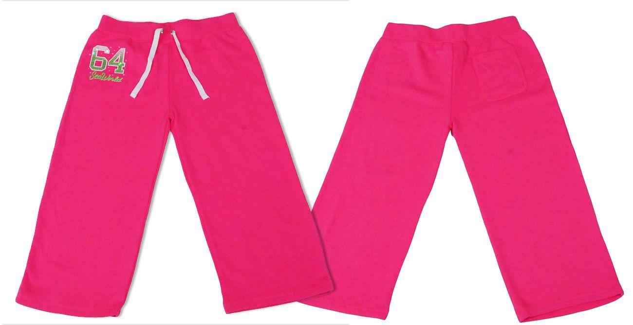 Стильные шорты-бермуды для девочки от SeaWorld® (США) - общий вид