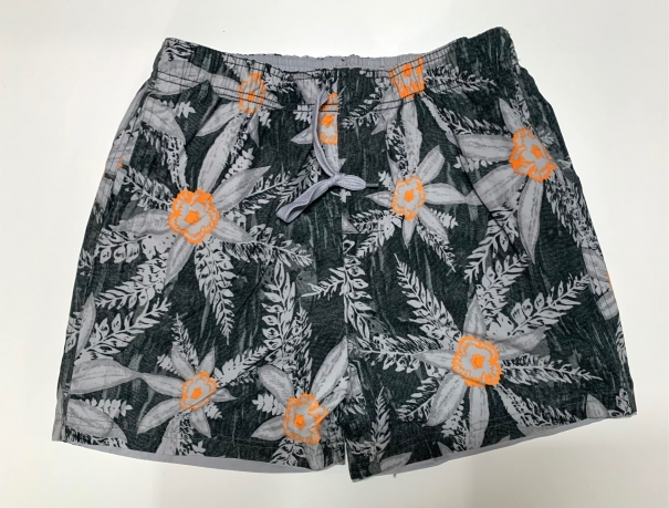 Стильные шорты мужские с цветочным принтом