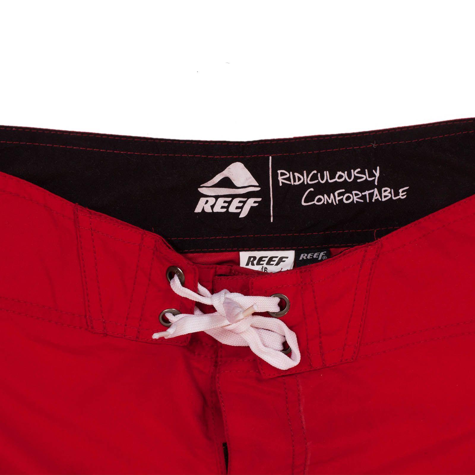 Стильные шорты Reef для подростков - ярлык
