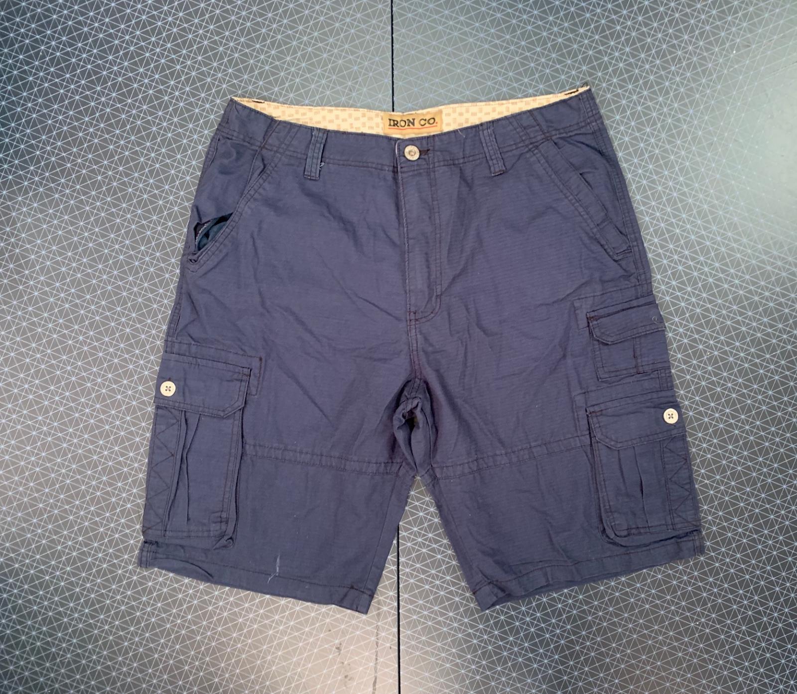 Стильные шорты с карманами от  IRON CO