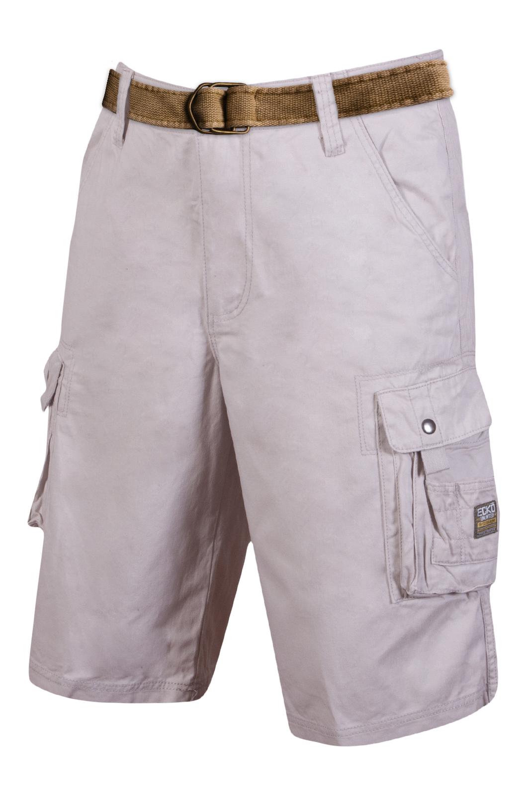Стильные шорты с ремнем - заказать с доставкой