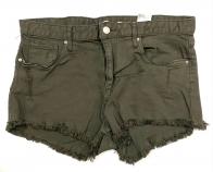 Стильные шорты женские цвета хаки-олива