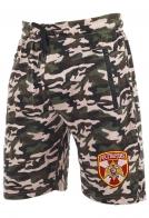 Стильные трикотажные милитари-шорты с нашивкой Росгвардия