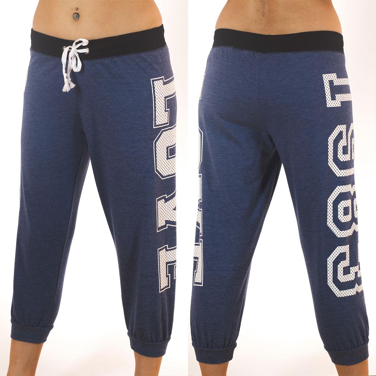 Стильные женские брюки капри Coco Limon для спорта