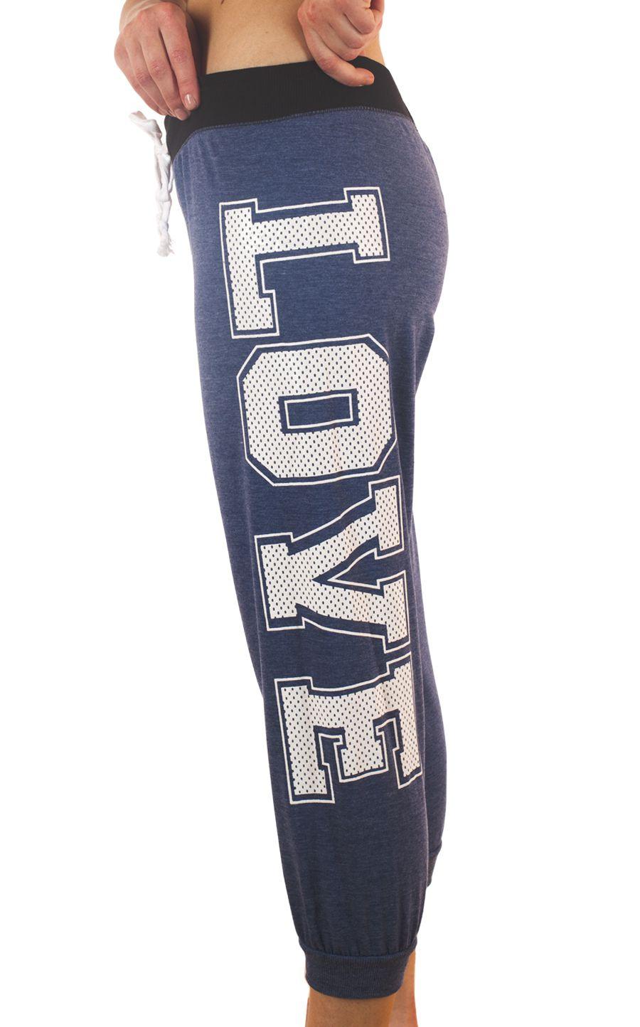 Стильные женские брюки капри Coco Limon для спорта - вид слева