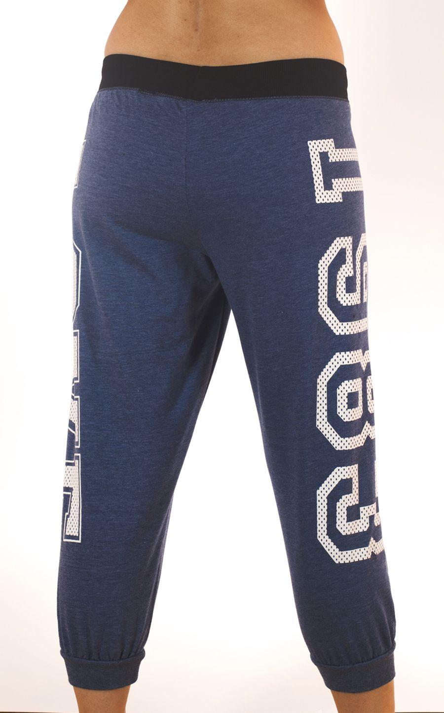 Стильные женские брюки капри Coco Limon для спорта Сoco Limon - вид сзади