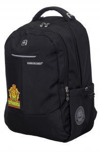 Стильный черный рюкзак ПОГРАНВОЙСКА - купить в подарок