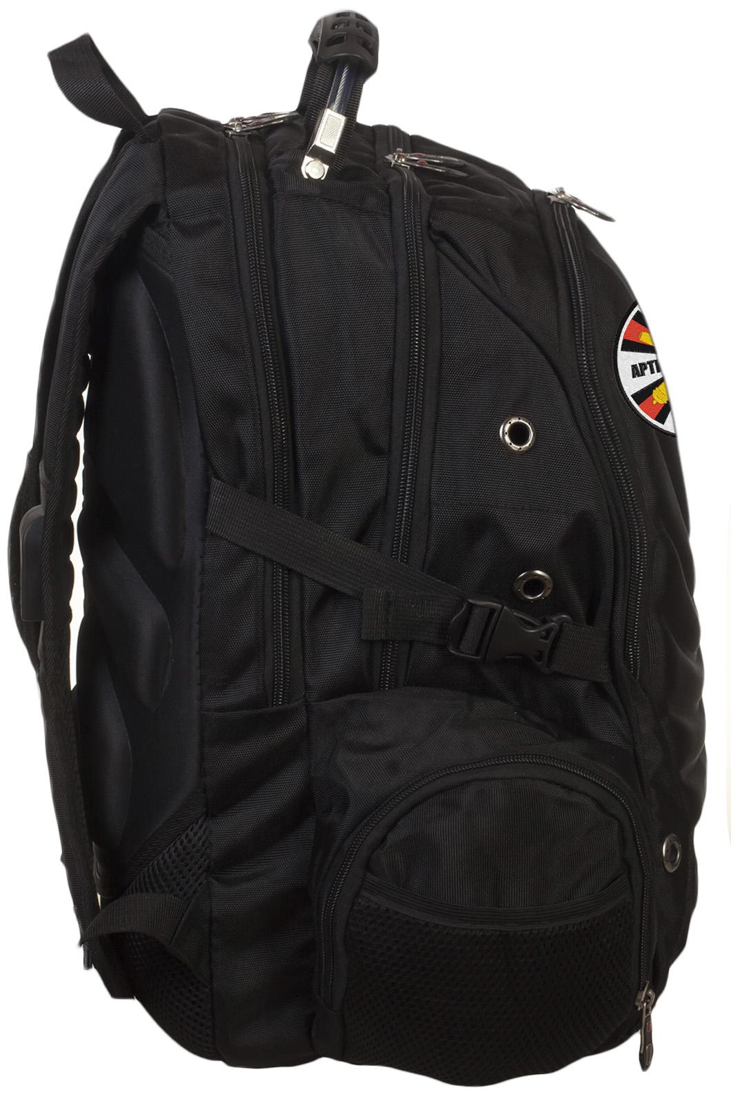 Стильный черный рюкзак с нашивкой РВиА - заказать онлайн