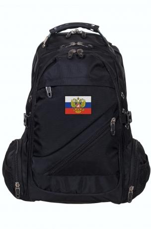 Стильный городской рюкзак с нашивкой Штандарт президента