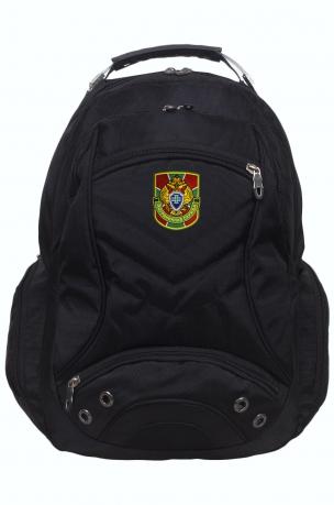 Стильный городской рюкзак с шевроном Пограничной службы