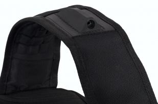 Стильный городской рюкзак с шевроном Пограничной службы купить оптом