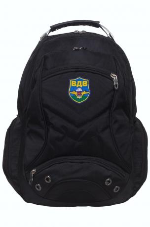 Стильный городской рюкзак с шевроном ВДВ