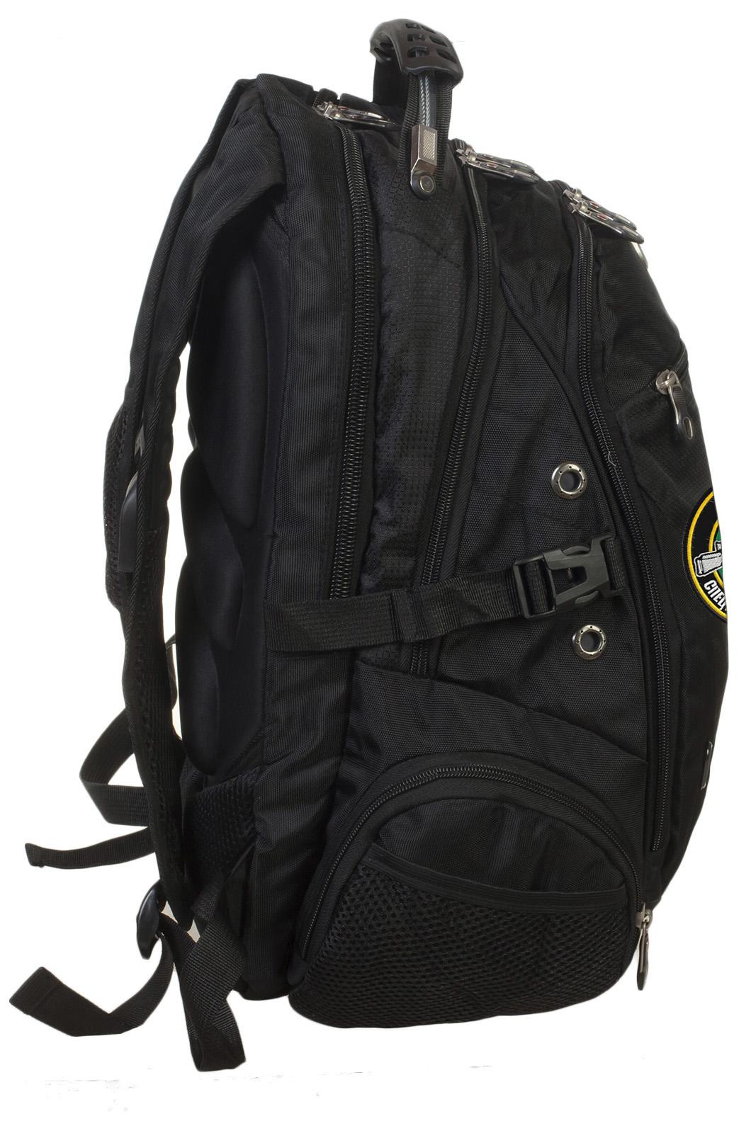 Заказать стильный мужской рюкзак с эмблемой войска Спецназ Снайпер