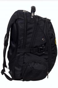 Заказать стильный мужской рюкзак с шуточной нашивкой Грибные войска